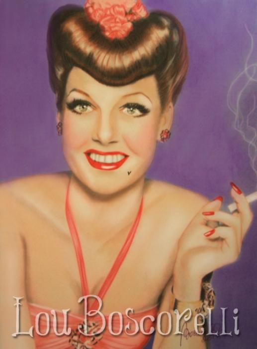 Ann Sheridan by LouBoscorelli